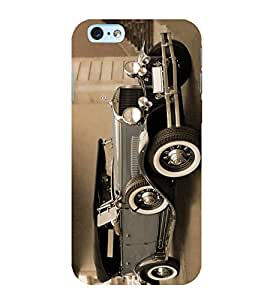 Fuson Designer Back Case Cover for Apple iPhone 6s Plus :: Apple iPhone 6s+ (Old jeep motor car beautiful stunning Vintage car)