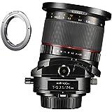 Walimex Pro 24mm 1: 3,5DSLR T-S–Tilt Shift fotocamera per Pentax K Adattatore incluso per Canon EF
