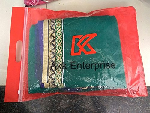 Akk Enterprise Women's Georgette Lehenga Choli (Shreehari-31_Multi-Coloured_Free Size)