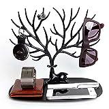 Best Tree Stands - Jewelry Rack Creative Sika Deer Tree Jewelry Rack Review