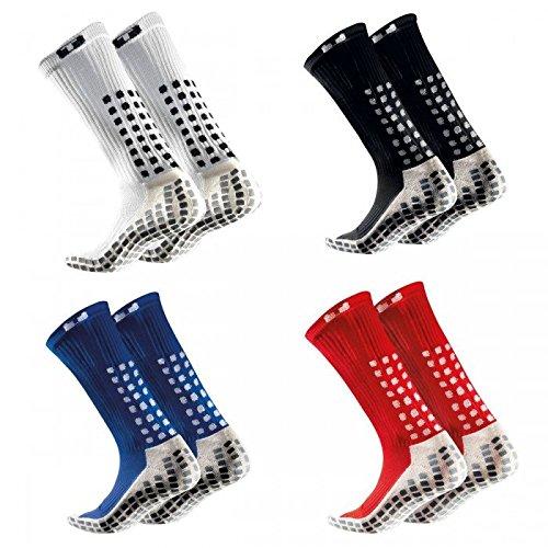 Trusox Mittler-Kalb-Socken dünn Größe M red -