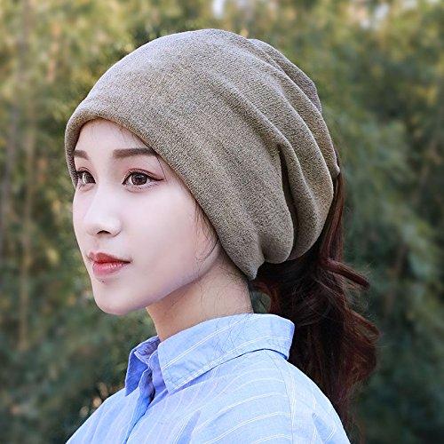 17 ans de mar¨¦e les chapeaux de la plaque du pieu cor¨¦en en utilisant plus de cheveux band azama cap un des couples,les bouchons sont code(56-58cm),Gris clair Light Coffee