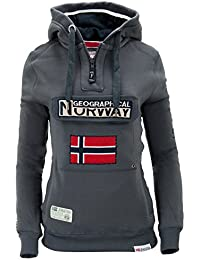 Geographical Norway - Sweat-shirt - Uni - Manches Longues - Homme