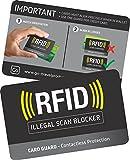 Go Travel RFID-Schutz, 2 Stück pro Packung, Ref Justsport 688)