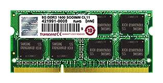 Transcend JetRAM - Memoria RAM de 8 GB para portátil (DDR3, SO-DIMM de 204-pin) (B008JIVLYY)   Amazon price tracker / tracking, Amazon price history charts, Amazon price watches, Amazon price drop alerts