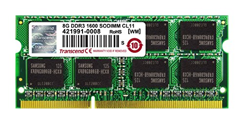 Transcend 8gb Ddr3 1600 Laptop Ram