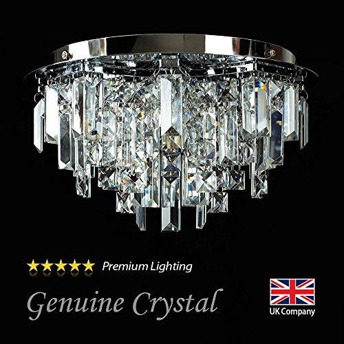 modern-silver-polished-chrome-5-way-lead-crystal-jewel-diamond-effect-droplet-flush-ceiling-chandeli
