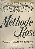 la premiere annee de piano methode rose
