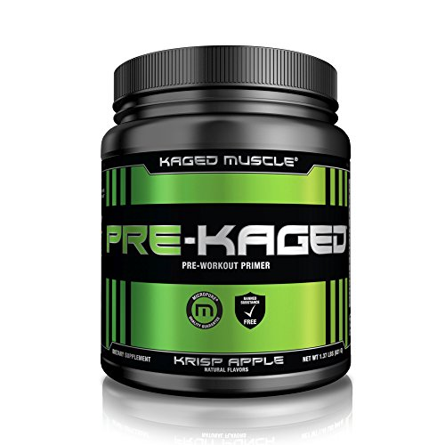 Kaged Muscle – Pre-Kaged Pre-Workout Primer Krisp Apple – 1.41 lbs.