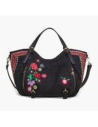 DESIGUAL - Femme sac a bandouliere rotterdam flores mex noir