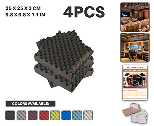 ace-punch-4-pack-black-egg-crate-acoustic-foam-panel-diy-design-studio-soundproofing-wall-tiles-soun