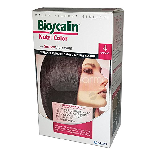 BIOSCALIN Nutri Color colorazione permanente Castano 4