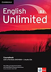 English Unlimited B2 - Upper-Intermediate. Coursebook with e-Portfolio DVD-ROM + 3 Audio-CDs