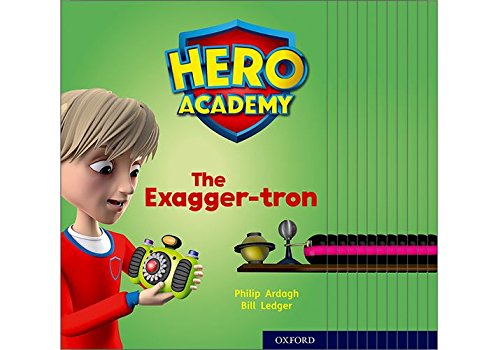Hero Academy: Oxford Level 7, Turquoise Book Band: Mixed pack Academy Oxford