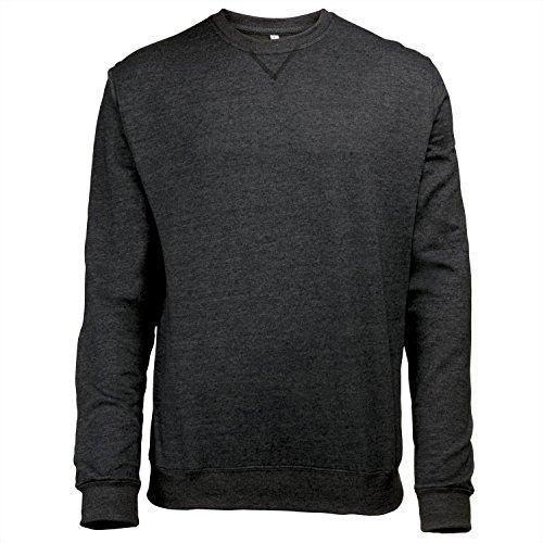 Awdis Herren Sweatshirt / Pullover mit Rundhalsausschnitt Grau Heather