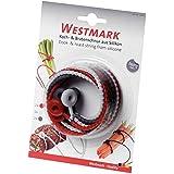 Westmark 15242280 Liens de Cuisson Silicone Rouge/Blanc/Gris 40,5 x 2 x 0,9 cm 6 Pièces