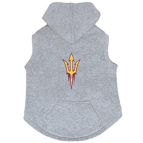 NCAA Arizona State Sun Devils Pet Kapuzen Crewneck, XL, grau - Devils Crewneck