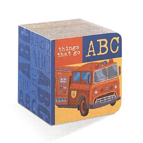 Crocodile Creek ABC Block Book Things That Go