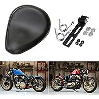 "LEAGUE&CO Moto Selle Solo Siège Softail Cuir +3.5 "" Ressorts Support Kit pour Harley Honda Suzuki Yamaha"