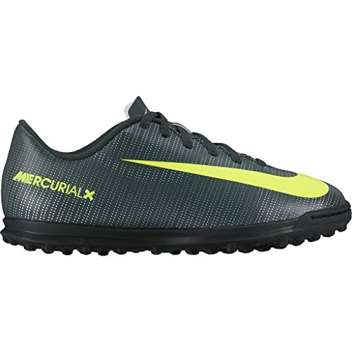 Scarpe da calcetto NIKE MERCURIAL VORTEX III CR7-TURF JUNIOR Verde