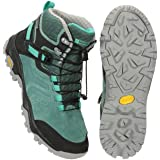 Mountain Warehouse Scarponcini Geneva Vibram Impermeabili da Donna - IsoDry, Traspiranti, con Allacciatura Rapida, Caviglia I
