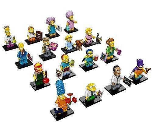 Lego Minifiguras Simpsons Serie 2 - 71009 - Colección completa de 16 minifiguras 1