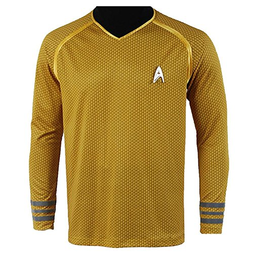 Star Trek Into Darkness Captain Kirk Hemd Uniform Kostüm (XL)