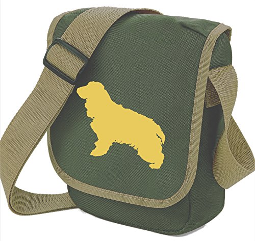 Bag Pixie, Borsa a spalla donna Cream Dog Olive Bag