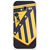 Becool TPU-SG234-ATM09 - Funda Gel Flexible Atlético de Madrid para Samsung Galaxy A5 2017 diseño escudo 2, Multicolor
