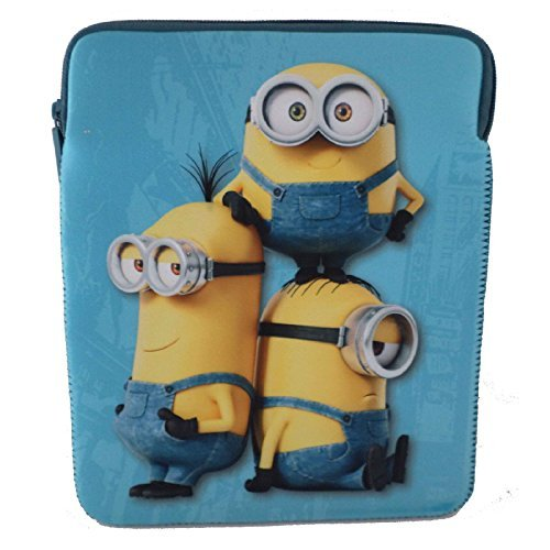 "Funda Minions Apple iPad 10 ""pulgadas neopreno"
