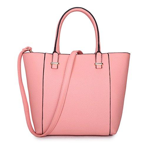 LS2, Borsa tote donna Pink