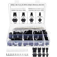 2.5mm JST SM 2 3 4 5 Pin Connector macho y hembra enchufe hembra adaptador de conector kit de surtido