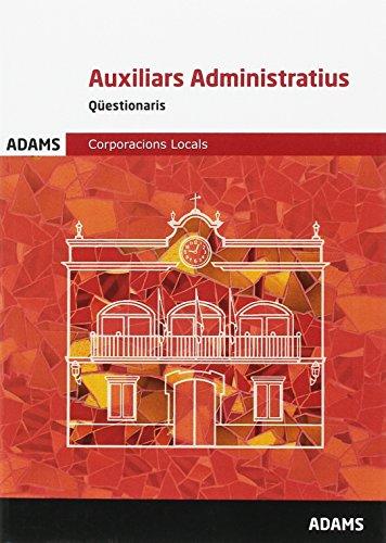 Qüestionaris Auxiliars Administratius Corporacions Locals por Obra Colectiva