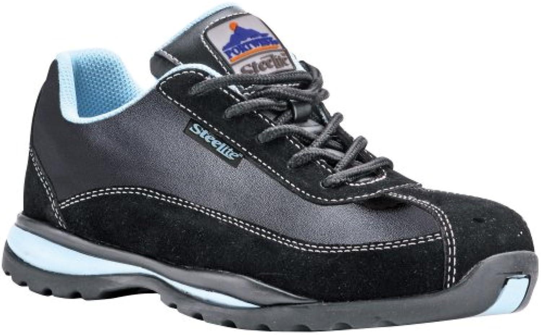 Portwest Steelite Toe Capped Lightweight Ladies Safety Work Trainer Shoe Boot