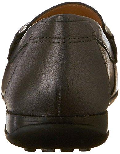 Geox DONNA EURO D, Mocassins (loafers) femme Noir - Noir (C999)