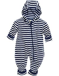 Playshoes Fleece-Overall Maritim, Traje de esquí para Bebés