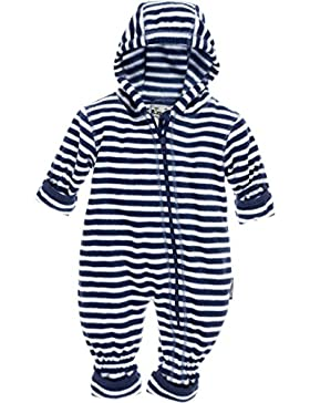 Playshoes Unisex Baby Schneeanzug Fleece-Overall Maritim