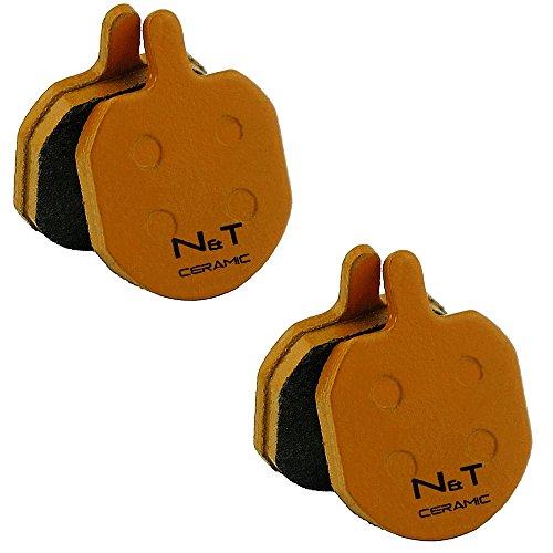 2x Noah e Theo nt-bp008/CR pastiglie freno a disco in ceramica Fit Bengal Helix 1.01.12.12.533L 55L 77L 7.5MB606MB606T MB700MB700T MB839MB839M MB840MB845MB 845a MB845B MB849A MB849B Strida Ares e PH02
