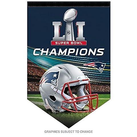 New England Patriots Super Bowl Champions Banner