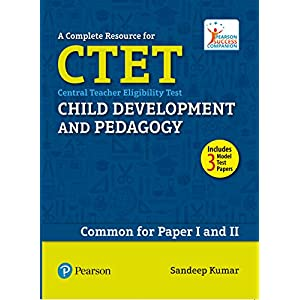 A Complete Resource for CTET: Child Development and Pedagogy (Old Edition)