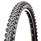 Barabike-CST CST Pneu de vélo pneu de vélo black tiger Noir, 700x42c (TR-CS019)