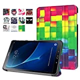 WiTa-Store Schutzhülle für Samsung Galaxy Tab A 10.1 SM-T580 T585 Zoll Smart Slim Case Book Cover Stand Flip T580N T585N
