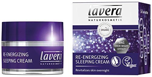 Lavera crema dormir re energizing 5in1over night