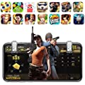 Ruimin Mobile Phone Game Controller Sensitive Shoot and Aim Triggers L1R1 L2R2 for Fortnite/PUBG/Knives Out/Rules of Survival : everything five pounds (or less!)