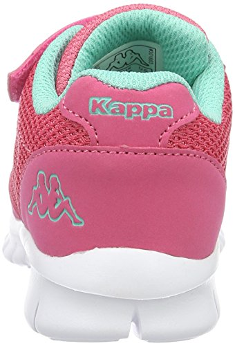 Kappa Stay, Scarpe da Ginnastica Basse Bambina Rosa (Pink/mint)