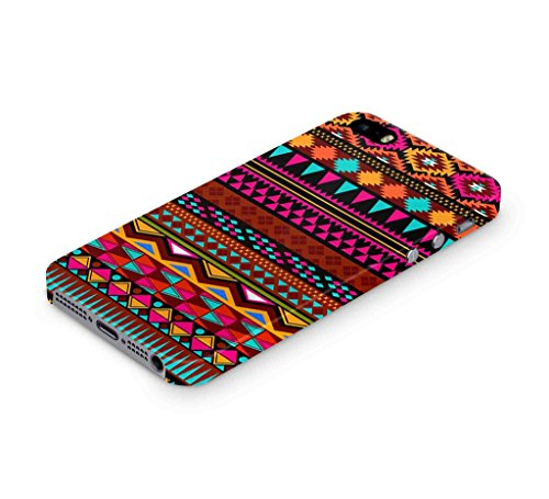 Cover Affair Designer Aztec Printed Slim Light Weight Back Cover Case for iPhone 5S(Pink, White, Blue, Black and Others)