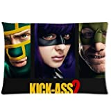 Movie Kick Ass2 Zippered Pillowcase¡ê? Size 20x30 inches¡ê? Printed on Two Sides