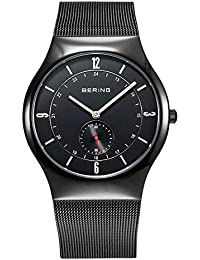 Bering Time Herren-Armbanduhr XL Analog Quarz Edelstahl 11940-222