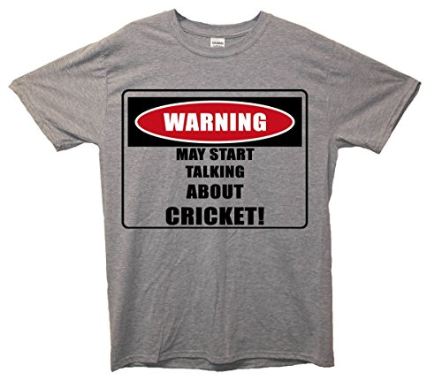 Warning/Cricket. Maglietta Grey