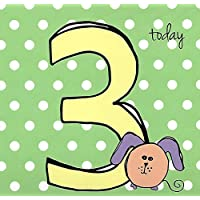 3rd Birthday Card, Foiled, Wrapped - We Also Have Birthday Cards Multipack/Christmas Cards Packs/Thank You Cards Multipack/Wholesale / Multipack